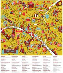 Paris Map - Junior Crumpled City - Paris Map - Junior