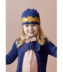 Oeuf NYC Bat Hat Oeuf NYC Bat Hat Indigo   Mustard