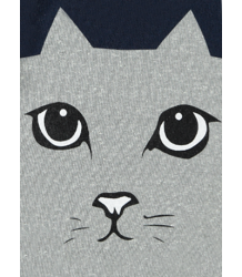 Cat T-shirt LS Simple Kids Cat T-shirt LS Cat