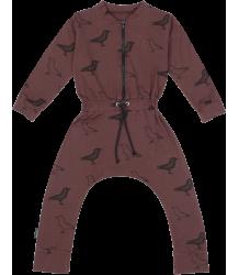 Mói Jump Suit LS Moi Jump Suit LS Vine with Signature print
