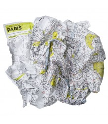 Crumpled City™ Paris Map - Family Pack Crumpled City - Paris Map - Family Pack