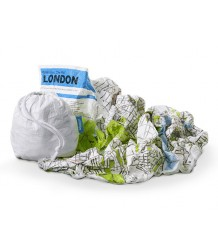 Crumpled City™ London Map - Family Pack  Crumpled City - London Map - Family Pack