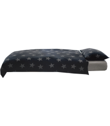 Nununu Bedding  Nununu Bedding Black with stars