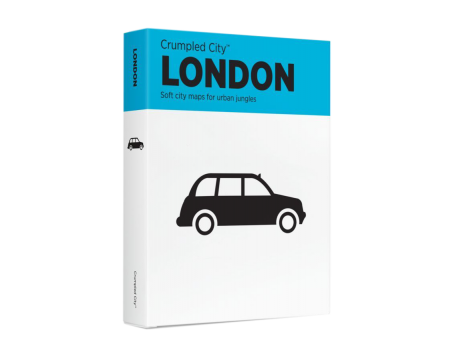 Crumpled City™ London Map - Family Pack