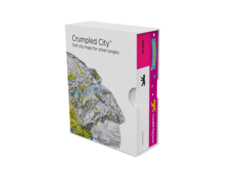 Crumpled City™ Berlin Map - Family Pack