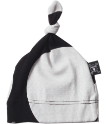 Nununu Baby Hat Nununu Baby Hat black and white circles
