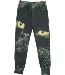 Popupshop Play Leggings BLACK CAT Popupshop Play Leggings Print Black cat