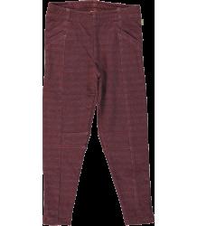Kidscase Jonas Organic Slim Pants Kidscase Jonas Organic Slim Pants dark red