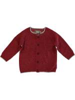 Kidscase Lee Baby Cardigan Kidscase Lee Baby Cardigan red