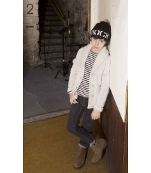 Zadig & Voltaire Kids Prince Wool Hat Zadig & Voltaire Kid Knitted Hat ROCK black