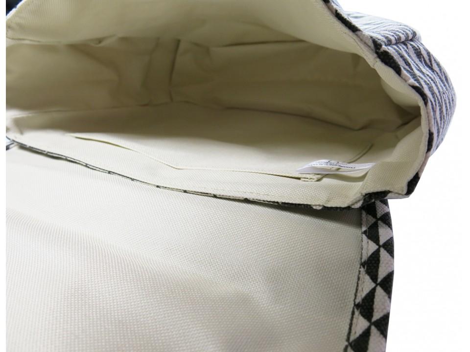 Schoudertas Polder : Bakker m w love shoulderbag in dessin orange mayonnaise