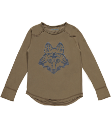 Zadig & Voltaire Kid T-shirt LS Zadig & Voltaire Kid T-shirt Boxer WOLF, light kaki brown