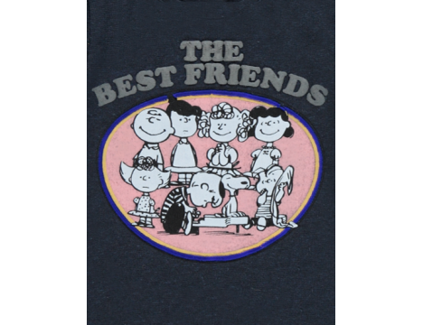 Simple Kids Snoopy T-shirt LS