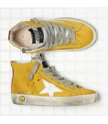 Golden Goose Francy SUEDE Golden Goose Francy yellow suede