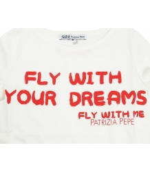 Patrizia Pepe Girls T-shirt Dreams Patrizia Pepe Girls T-shirt Dreams