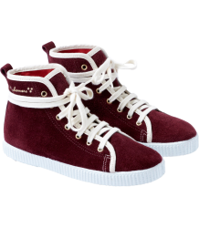 Polder Girl Spritz Sneakers April Showers by Polder Spritz Sneakers Burgundy