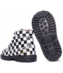 AKID Atticus CHECK AKID Atticus Black white CHECKERED
