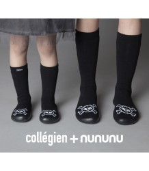 Nununu Collegien Slippers Knee-Highs Nununu Collegien Slippers Knee-Highs Skull
