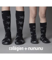 Nununu Collegien Slippers Knee-Highs Nununu Collegien Slippers Star Knee-High's