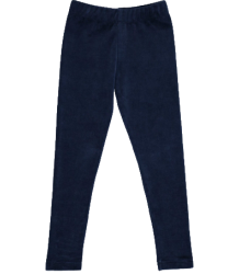 Popupshop Leggings Velour Popupshop Leggings Blue Velour