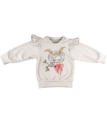 Salt City Emporium Flutter Sleeve Sweatshirt Print Salt City Emporium Flutter Sleeve Sweatshirt Luna Print
