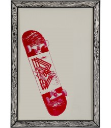 Poster Skate Red The prints by Marke Newton Poster Skate Red