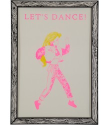 Marke Newton Poster Let's Dance he prints by Marke Newton Poster Let's Dance