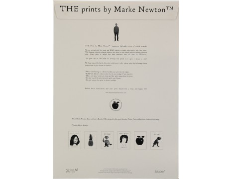 Marke Newton Poster Punk Forever