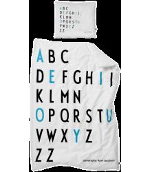 Design Letters AJ A-Zzz Bed Linen Design Letters AJ A-Zzz Bed Linen Turquoise
