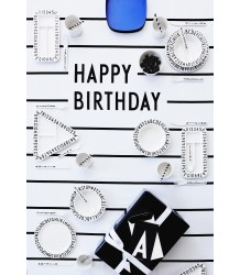 Design Letters Table Cloth Happy Birthday Design Letters Table Cloth Happy Birthday