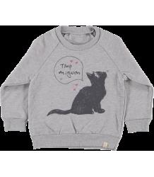 Atsuyo et Akiko Fleece Raglan Pullover Atsuyo et Akiko Fleece Raglan Pullover Mimou Cat