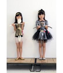Atsuyo et Akiko Jess Brown - Rag Doll Atsuyo et Akiko Jess Brown - Rag Doll metallic dress silver