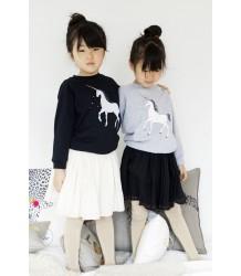 Atsuyo et Akiko Fleece Raglan Pullover Atsuyo et Akiko Fleece Raglan Pullover black Unicorn