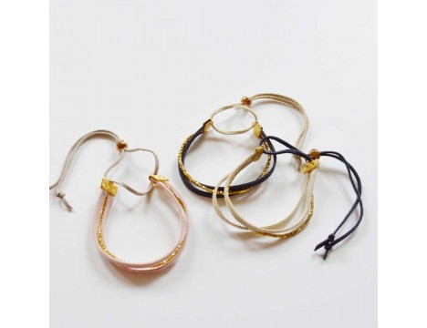 Atsuyo et Akiko Suede Bracelet