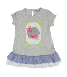 Patrizia Pepe Girls Smiley Tunic Baby - OUTLET Patrizia Pepe Baby Smiley Tunic