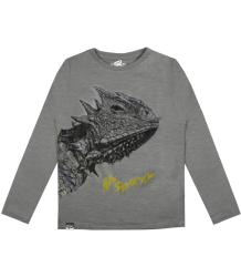 Lion of Leisure T-shirt LS LIZARD Lion of Leisure T-shirt LS Lizard grey