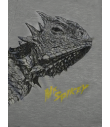 Lion of Leisure T-shirt LS LIZARD Lion of Leisure T-shirt LS Lizard