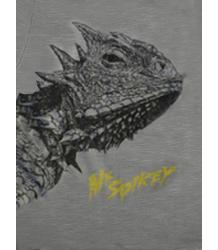 Lion of Leisure T-shirt LS LIZARD Lion of Leisure T-shirt LS Lizard