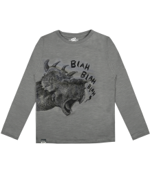 Lion of Leisure T-shirt LS Dino Lion of Leisure T-shirt LS Dino steel grey