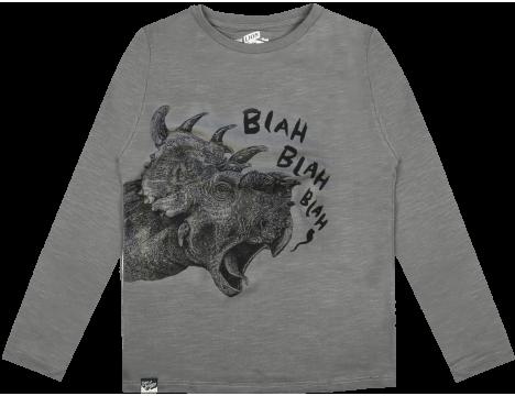 Lion of Leisure T-shirt LS DINO