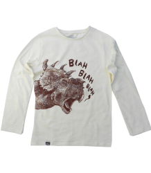 Lion of Leisure T-shirt LS DINO Lion of Leisure T-shirt LS Dino off-white