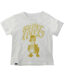 Lion of Leisure Baby T-shirt Duckling Lion of Leisure Baby T-shirt Duckling off-white