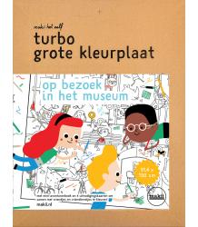 Makii Turbo Grote Kleurplaat - Museum Makii Turbo Grote Kleurplaat - Museum