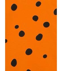 Mini Rodini Dot AOP SS Raglan Dress Mini Rodini Dot AOP SS Raglan Dress Orange