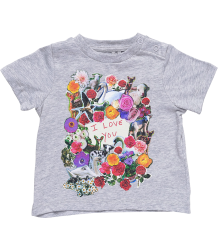 Stella McCartney Kids Chuckle Tee LOVE Stella McCartney Kids Chuckle Tee LOVE