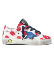 Golden Goose Superstar DOT Golden Goose Superstar what and red pois