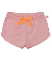 Noé & Zoë Shortje Noe & Zoe Baby short peach pink with neon orange