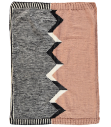 Anatology Blanket by Marawilla Wool Anatology Deken door Marawilla Wool handknitetd
