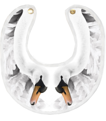 Anatology Bib - LIMITED EDTION Anatology Bib - LIMITED EDTION swan