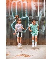 Noé & Zoë Shortie STRIPES XL Noe & ZoeBaby Shortje - STRIPES XL
